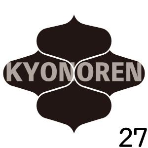 四つ網目(よつあみめ)家紋27のれんkyonoren.com