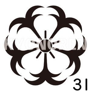 錨桜(いかりざくら)家紋31のれんkyonoren.com