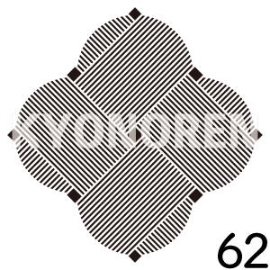 糸巻(いとまき)家紋62のれんkyonoren.com