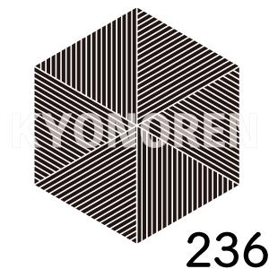畳釜敷(たたみかましき)家紋236のれんkyonoren.com
