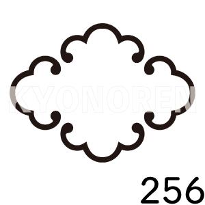 唐鐶菱(からかんびし)家紋256のれんkyonoren.com