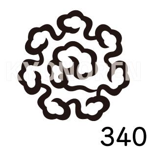 東寺雲(とうじぐも)家紋340のれんkyonoren.com